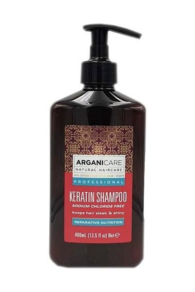 Arganicare Keratin Shampoo mit Arganöl für geschmeidiges und glänzendes Haar, 1 x 400 ml bei mycleverdeals.de online kaufen