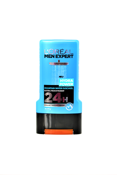 L'ORÉAL Men Expert Hydra Power Mountain Water Duschgel, 1 x 300 ml