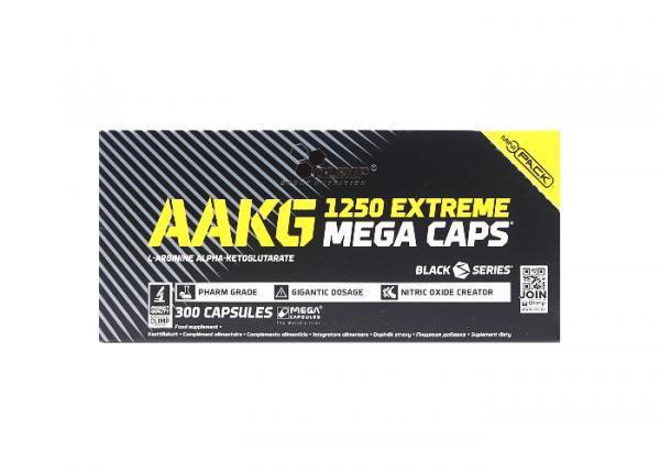 Olimp AAKG 1250 Extreme Mega Caps 300 Kapseln online kaufen bei mycleverdeals.de