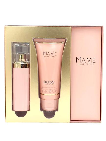 Hugo Boss Geschenkset Ma Vie I 50 ml Eau de Parfum & 100 ml Body Lotion jetzt online kaufen bei mycleverdeals.de