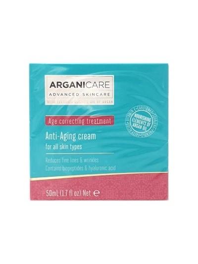 Arganicare Anti-Aging Cream Creme für alle Hauttypen mit Arganöl, 50 ml online kaufen bei mycleverdeals.de