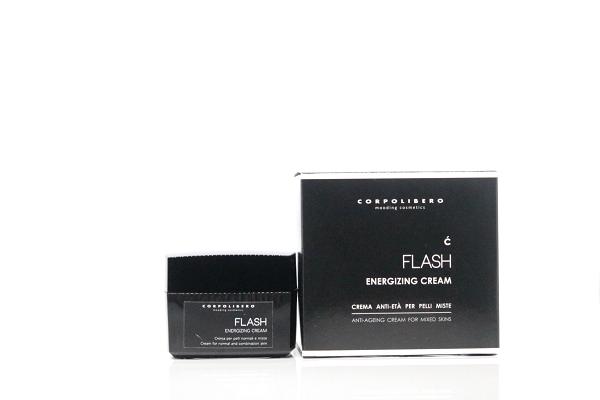 Corpolibero FLASH Energizing Cream - regenerative Gesichtscreme für fettige Haut und Mischhaut