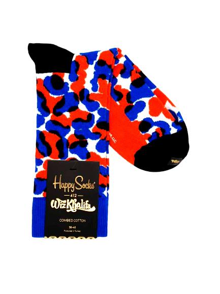 "Happy Socks Wiz Khalifa ""Black & Blue"" Socken mehrfarbig Größe 36-40 unisex online kaufen bei mycleverdeals.de"