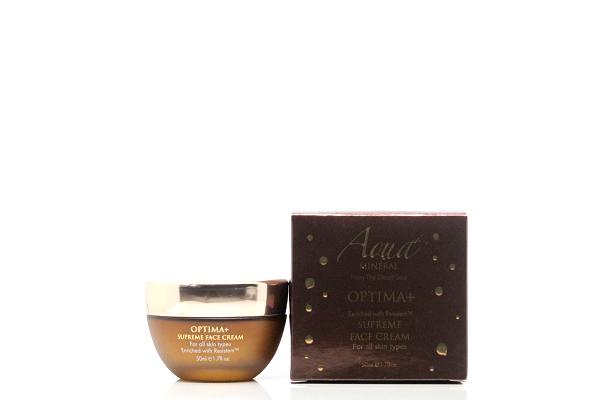 Aqua Mineral OPTIMA+ Supreme Gesichtscreme mit Mineralien aus dem Toten Meer für alle Hauttypen