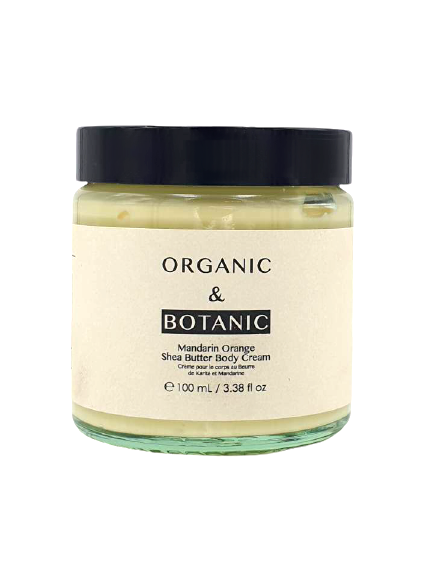 Organic & Botanic Mandarin Orange Shea Butter Body Cream, vegan, 100 ml ml online kaufen bei mycleverdeals.de