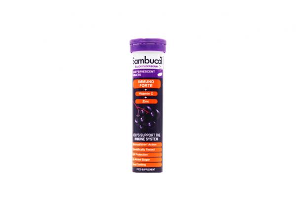 Sambucol Immuno Forte schwarze Holunderbeere Brausetabletten I 1 x15 Stück online kaufen bei mycleverdeals.de