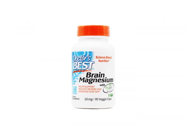Doctor's Best Brain Magnesium mit Magtein 50mg I 90 Kapseln online kaufen bei mycleverdeals.de