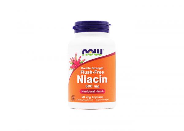 Now Foods Flush-Free vegane Niacin Kapsel 500 mg, 1 x 90 Kapseln online kaufen bei mycleverdeals.de