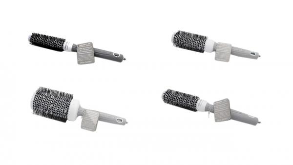 Olivia Garden Haarbürste Rundbürsten Ceramic + Ion Technologie verschiedene Größen 20-55 mm