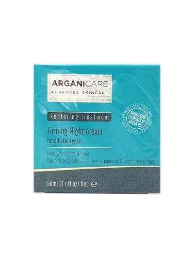 Arganicare Firming Night Cream Creme für alle Hauttypen mit Arganöl, 1 x 50 m