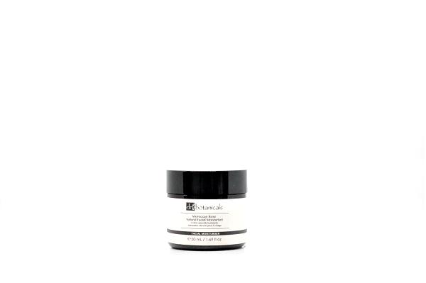 Dr Botanicals Moroccan Rose Natural Facial Moisturiser Feuchtigkeitscreme, 50 ml