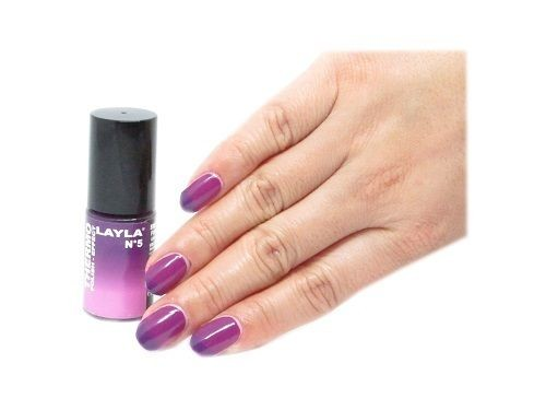 LAYLA Cosmetics Thermo Polish Effect Nagellack No. 5