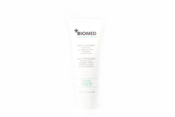 Biomed 5-in-1 Reinigung für Gesicht und Augen, 90 ml