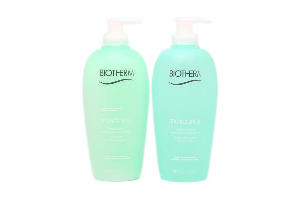 Biotherm Biosource Geschenkset Reinigungsmilch & Tonic