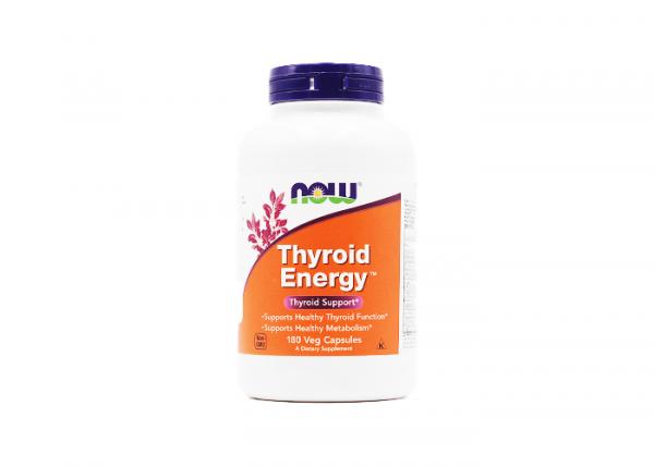 Now Foods Thyroid Energy vegan, Energie f. Schilddrüse, 1 x 180 Kapseln online kaufen bei mycleverdeals.de